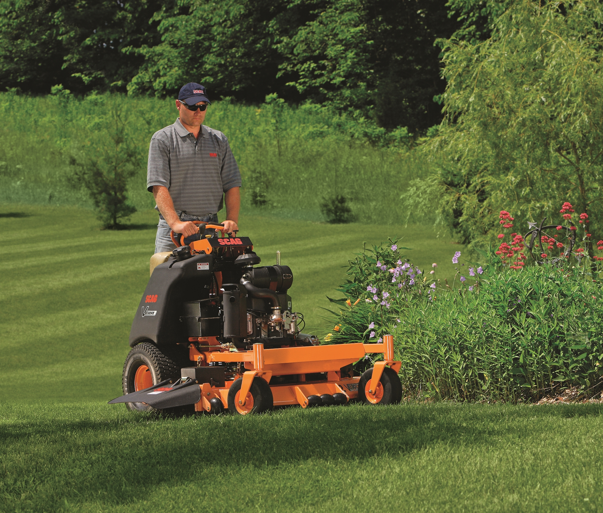 Scag Zero Turn Mowers V Ride Akron Ohio Gsa Equipment