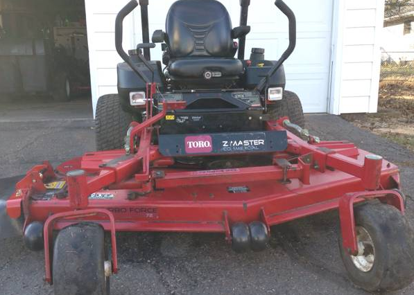 Used Tires Akron Ohio >> 72in Toro Zmaster Commercial Zero Turn Mower Low hours 27 Kohler - GSA Equipment - New - Used ...