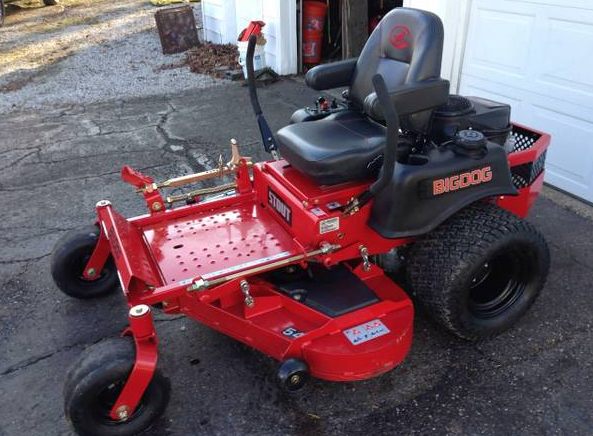 54in Big Dog Stout Commercial Zero Turn Mower New W 7