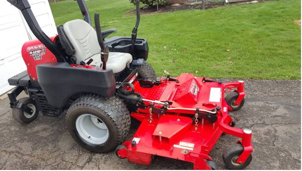 60in Gravely Rapid Xd Commercial Zero Turn Mower 1200