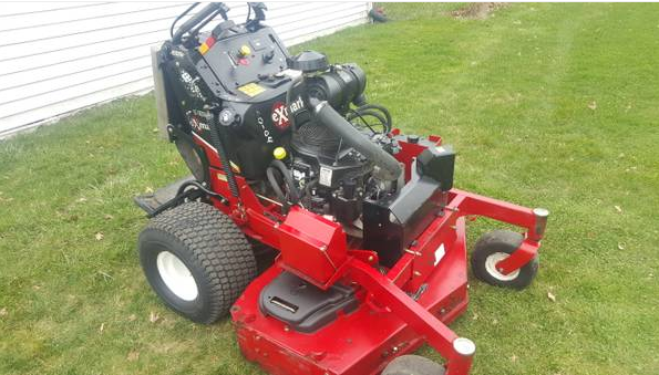 52in Exmark Vantage Commercial Stand On Zero Turn Mower