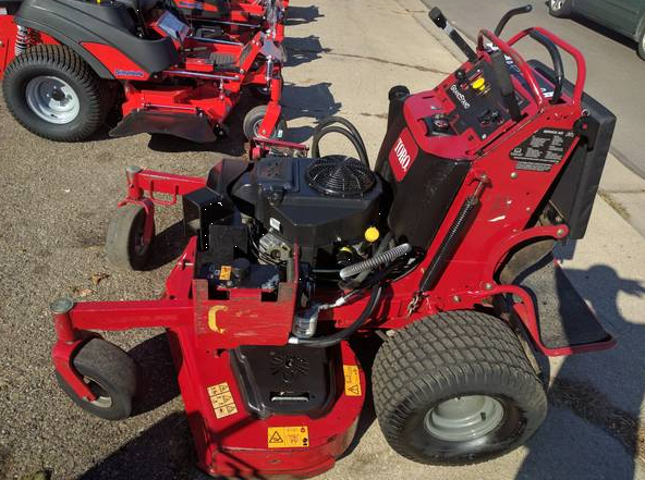 52in Toro Grandstand Commercial Stand On Zero Turn Mower