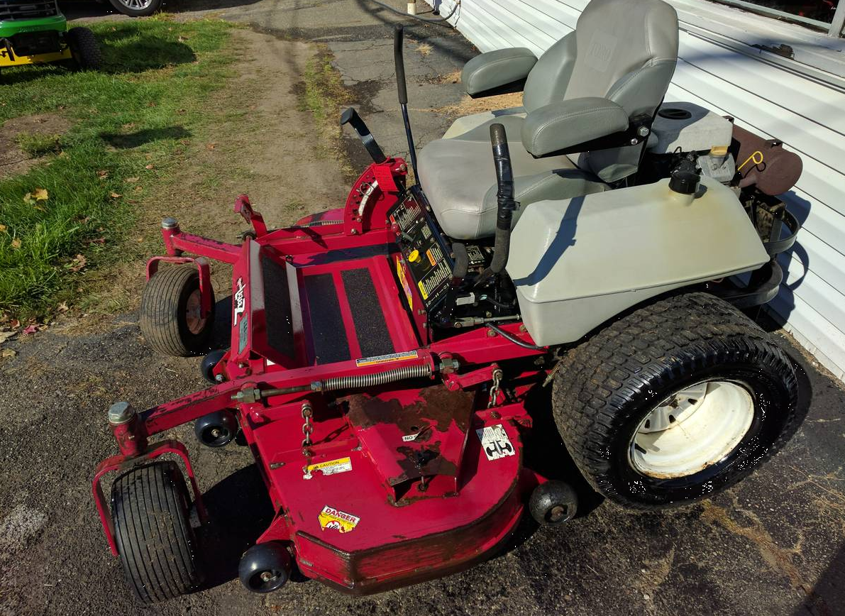 60in Exmark Lazer Z Commercial Zero Turn Mower 25 Kawasaki