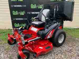 FERRIS MOWER WITH BAGGER LEAF PICK UP COLLECTION AKRON CANTON