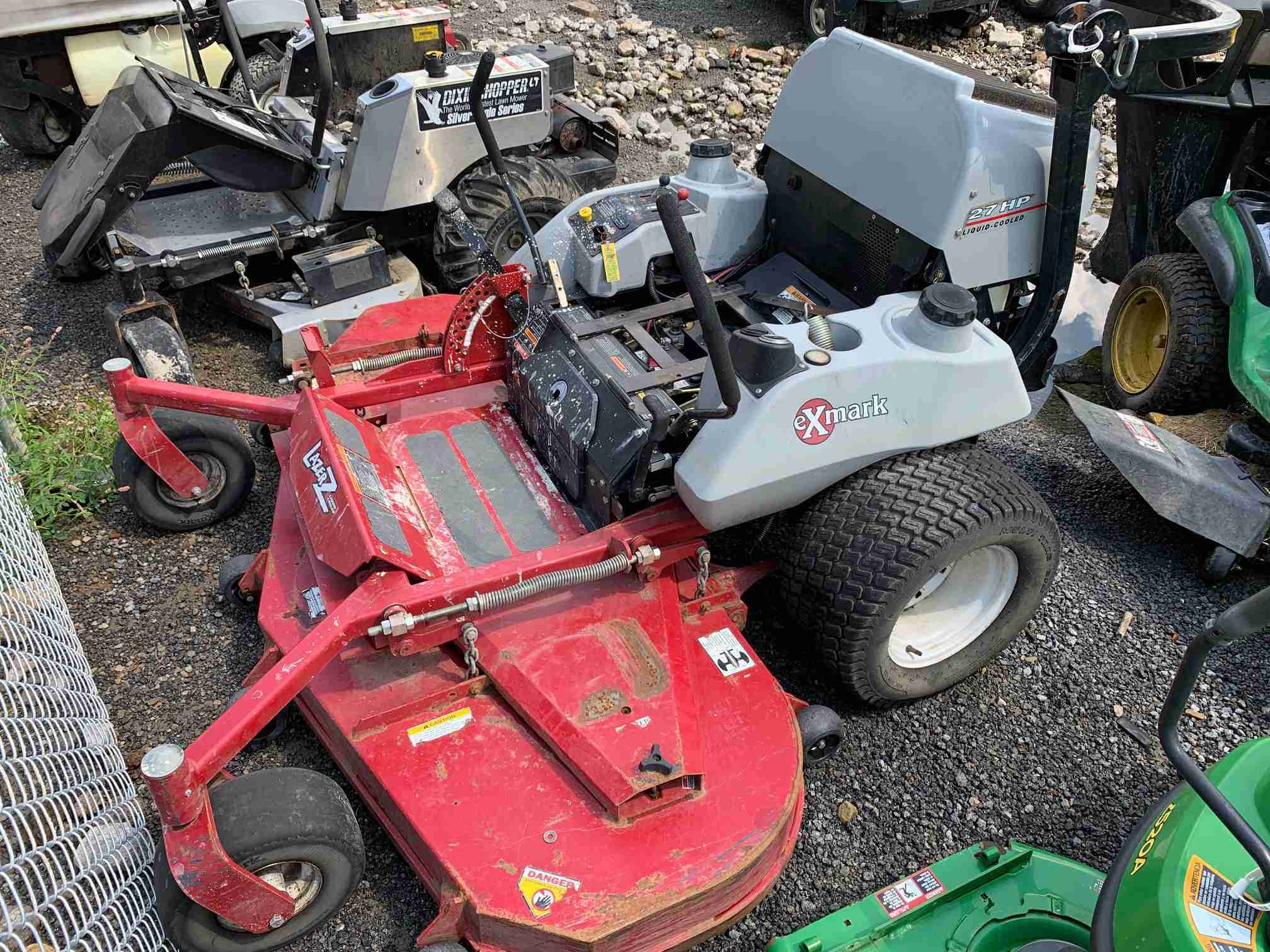 72IN EXMARK LAZER Z COMMERCIAL ZERO TURN MOWER - MECHANICS SPECIAL -