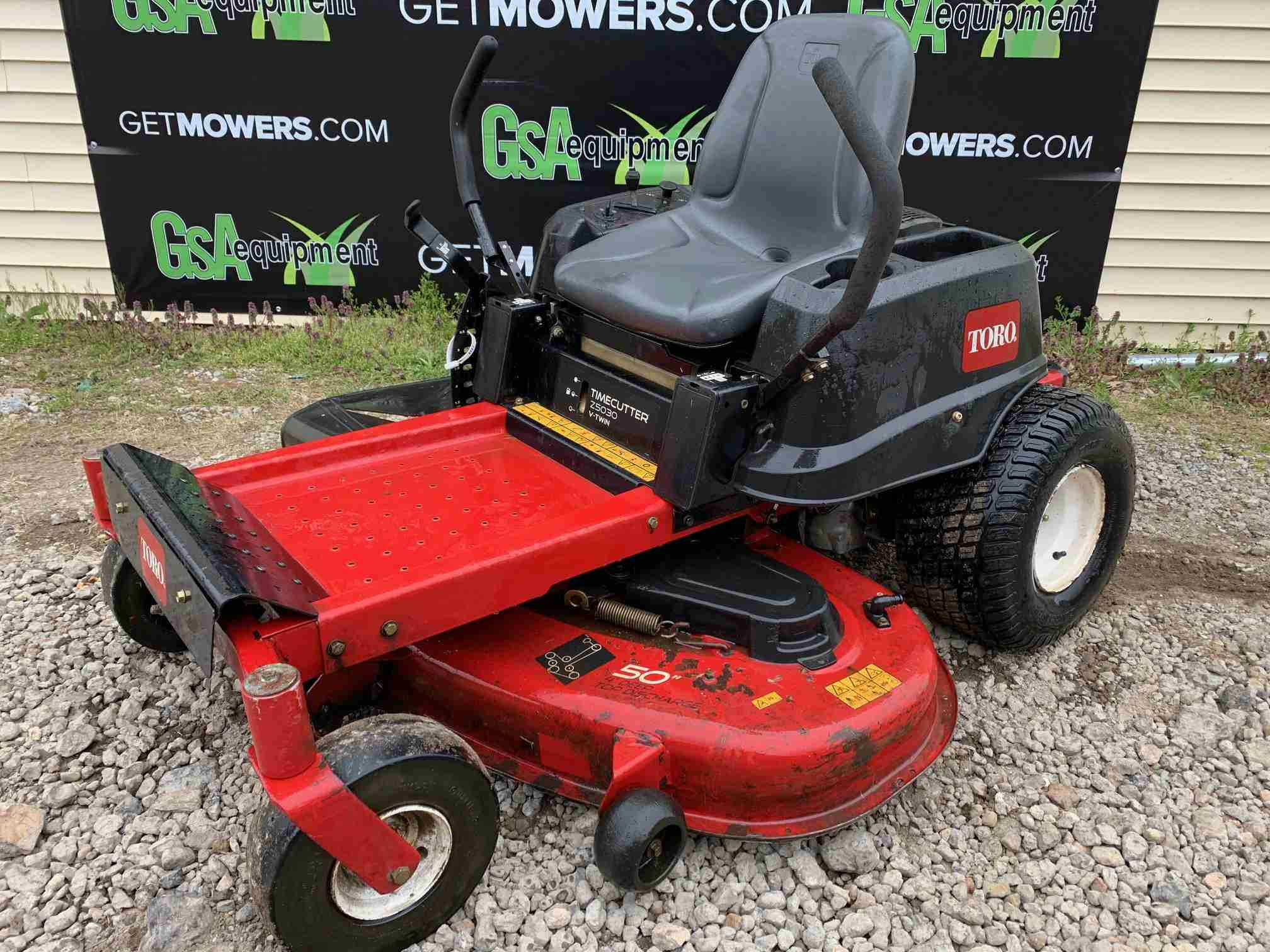 50IN TORO TIMECUTTER Z5030 RESIDENTIAL ZERO TURN MOWER W ...