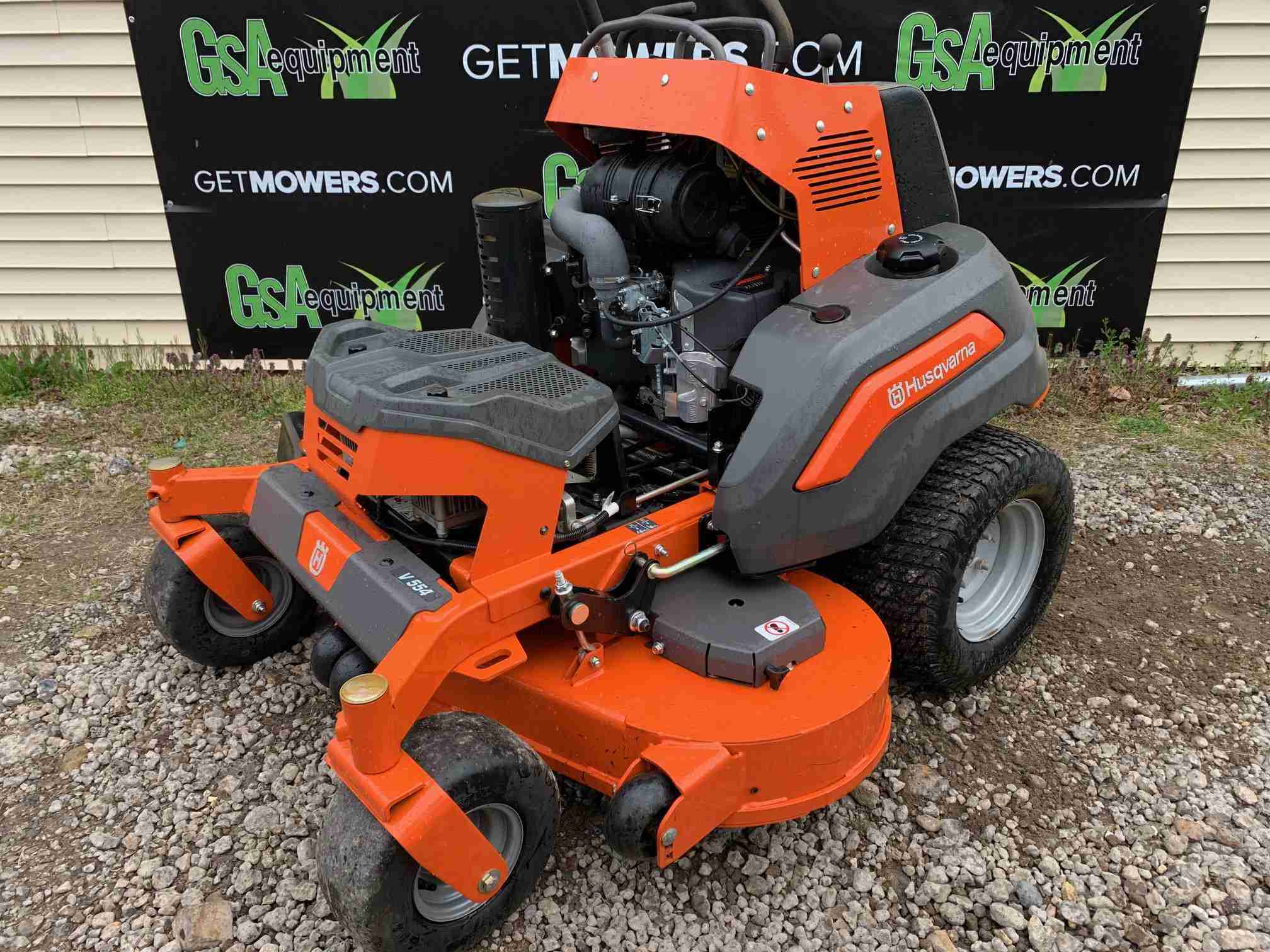 54in Husqvarna V554 Stand On Commercial Zero Turn W 31