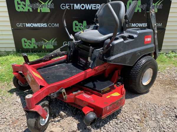 TORO TITAN USED MOWER FOR SALE AKRON CANTON CLEVELAND PITTSBURGH