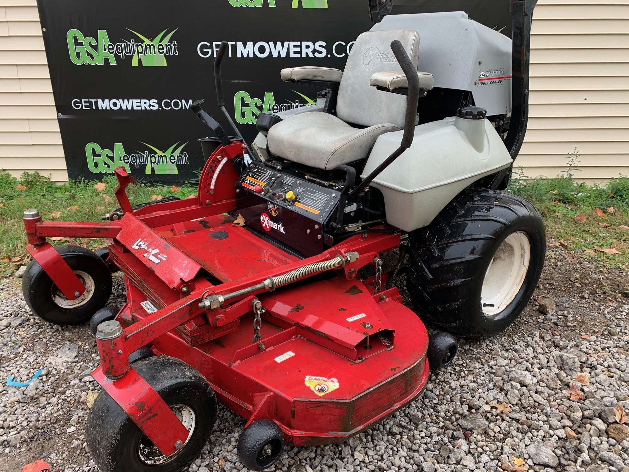 60in Exmark Lazer Z Commercial Zero Turn W   27 Hp  Only  68 A Month   - Gsa Equipment