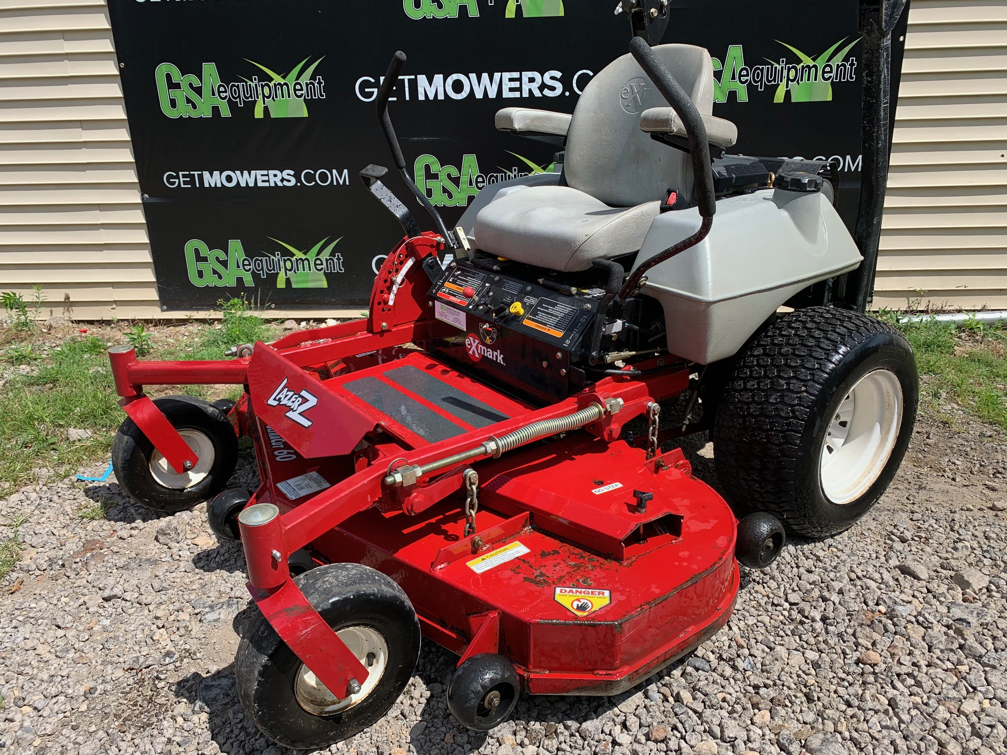 60in Exmark Lazer Z Commercial Zero Turn With 23hp  Only