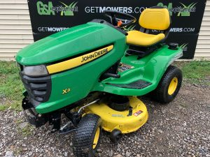 JOHN DEERE USED RIDING MOWERS FOR SALE AKRON CANTON CLEVELAND COLUMBUS OHIO