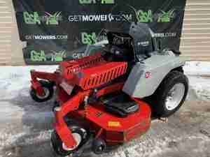EXMARK STARIS STAND ON MOWER FOR SALE AKRON CLEVELAND OHIO