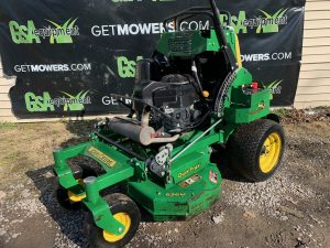 JOHN DEERE 36 INCH STAND ON MOWER