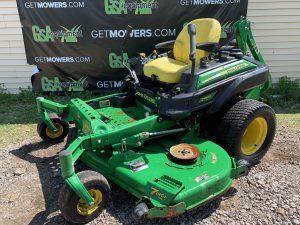 john deere used 72 inch mower for sale