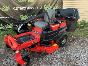 GRAVELY ZTX ZERO TURN MOWER USED FOR SALE NEAR ME