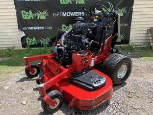 USED EXMARK COMMERCIAL STAND ON ZERO TURN MOWER FOR SALE