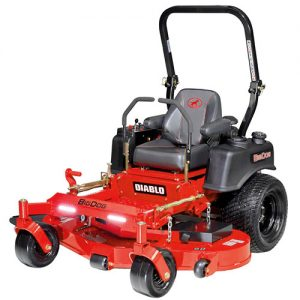 big dog zero turn mower DIABLO