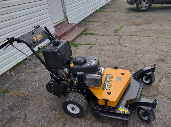 36in Cub Cadet Tank Commercial Walk Behind Mower 1 Owner