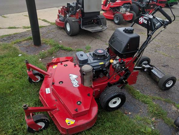 Commercial Walk Behind Lawn Mowers >> 48in Exmark Metro Commercial Walkbehind Mower 1 Owner Low HRS Homeowner USED - GSA Equipment ...