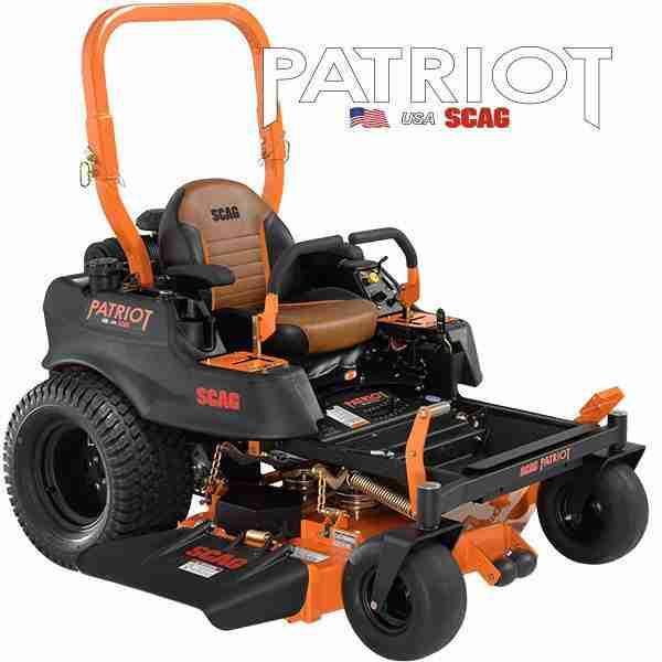 scag patriot commercial zero turn mower