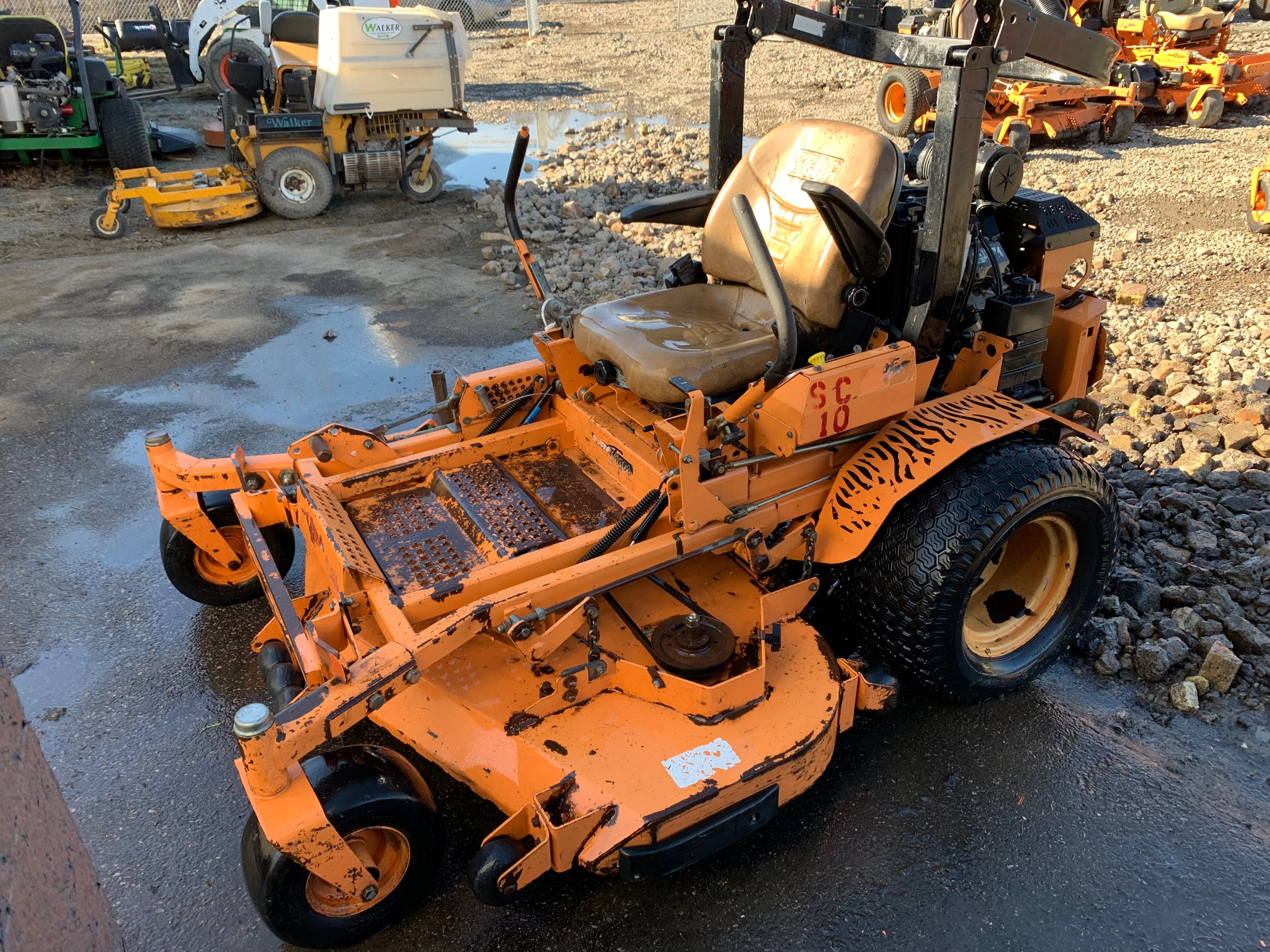 61in Scag Turf Tiger Commercial Zero Turn Mower W 29hp