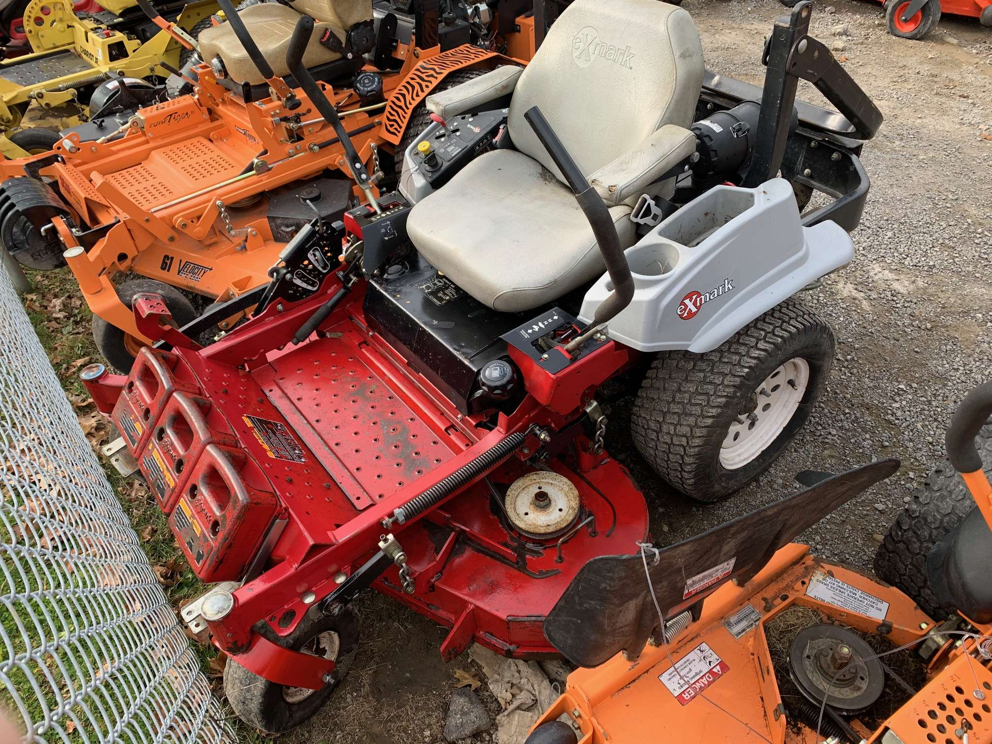 52in Exmark Lazer Z Commercial Zero Turn Mower W  22hp  Only  52 A Month  - Gsa Equipment