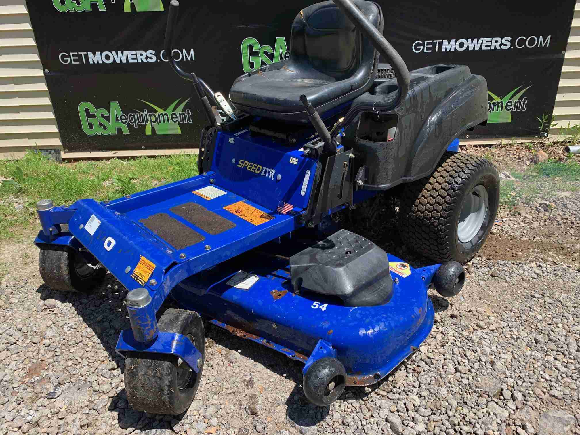 54in Dixon Speed Ztr Zero Turn Mower 24hp Kawasaki Only
