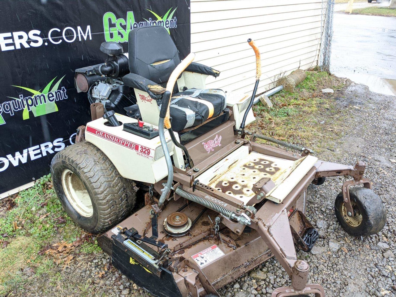 61in Grasshopper 329 Commercial Zero Turn Mower W 29hp